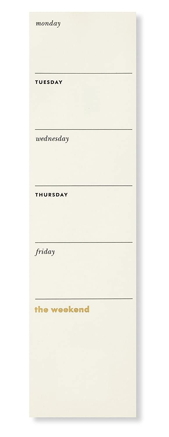 Kate Spade New York Weekly to-Do Sticky Note Pad