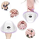 UV Nail Lamp, Carttiya 12W LED UV Nail Polish