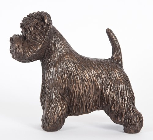 Highland Bronze Collectibles - DannyQuest Designs West Highland White Terrier: Cold-cast Bronze Figurine 4.75 Inches Long