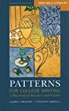 img - for Patterns for College Writing 11e with 2009 MLA Update & CompClass 11th edition by Kirszner, Laurie G., Mandell, Stephen R. (2009) Paperback book / textbook / text book