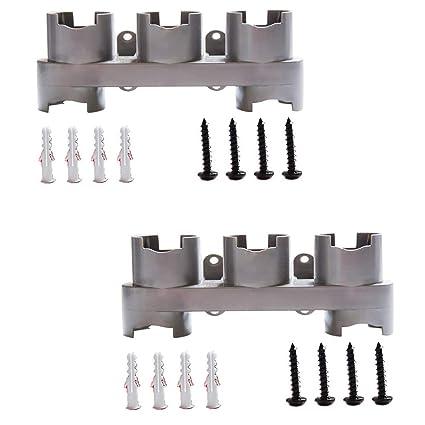 Klicop Soportes de Organizador Compatible con Dyson V7 V8 V10 Accesorio de Montaje en Pared Soporte