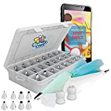 Baker's dozen Cake Decorating kit tools supplies.The Only 50 pcs...