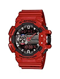 G-Shock GBA400-4A Classic Series Stylish Watch - Red/Black / One