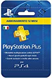 Sony Playstation Plus Card Hang Abbonamento 12 Mesi