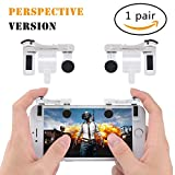 MEO PUBG Mobile Controller Sensitive Shoot and Triggers Aiming Controller for PUBG/Fortnite/Rules of Survival Mobile Gaming Joysticks for iPhone/Android