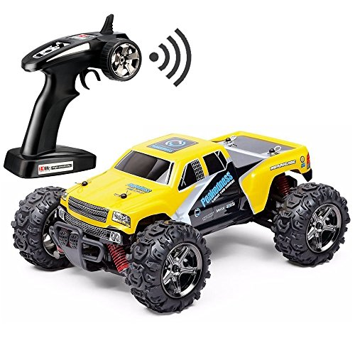 FSTgo RC Car Rock Crawler 32MPH Fast 4x4 Fast Race Cars Off Road 4WD 1:24 RTR Racing Monster Truck 2.4G Radio Remote Control Car (BG1510C)