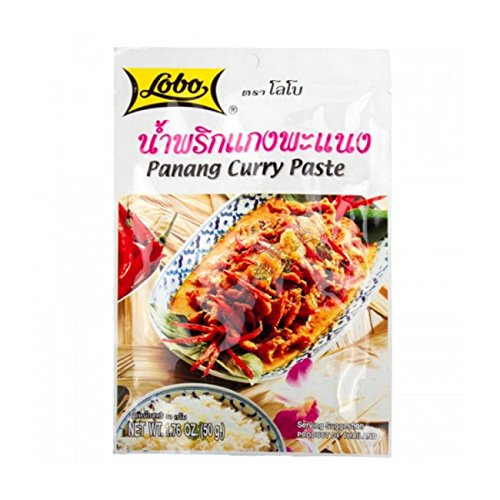 6Pcs Thai soup LOBO PANANG CURRY PASTE 50 G.