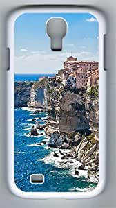 Samsung Galaxy S4 Case and Cover- Corsica On The Rocks PC Hard Case for Samsung Galaxy S4 / SIV/ I9500 White