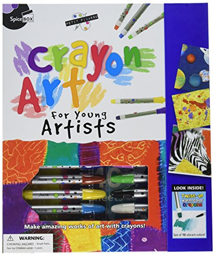 (SpiceBox Petit Picasso Crayon Art for Young Artists)