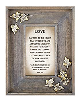 25th Anniversary LoveLea Down Home Collection Tabletop Frame