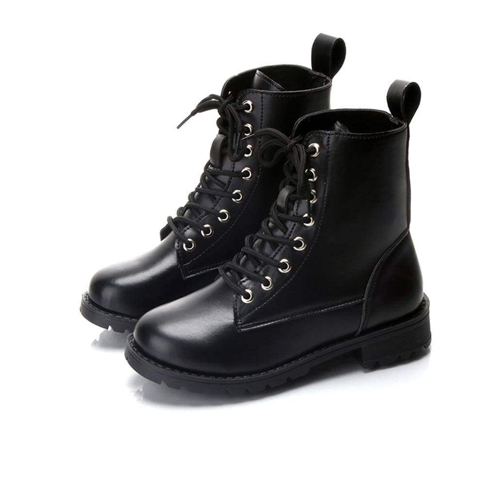 dfcb5bc2bb65 Winter Punk Boots for Women Snow Ladies Shoes Size 5 Boots Snow Zip  Waterproof Safety Wide Fit Mid Calf Army Gothic  Amazon.co.uk  Shoes   Bags