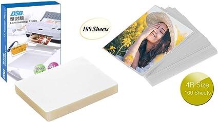 Aibecy 4R Tamaño 100 hojas, papel fotográfico brillante, secado ...