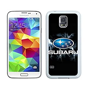 Superior Custom Design Subaru Logo 3 White Case For Samsung Galaxy S5 I9600 G900a G900v G900p G900t G900w
