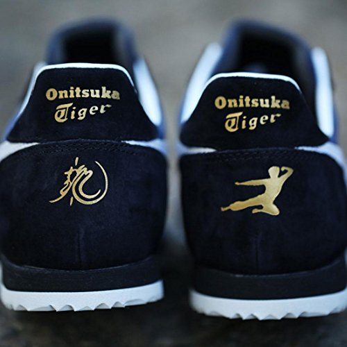 Aas X Bruce Lee X Onitsuka Tiger Mannen Colorado 85 - Legende Limited Edition Sneakers Marine / Wit