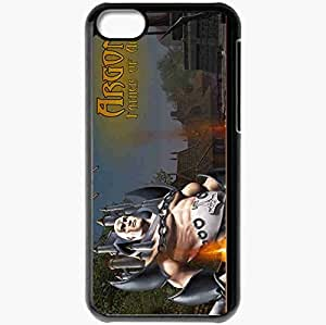 Personalized iPhone 5C Cell phone Case/Cover Skin Alganon Black