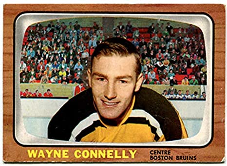 the latest 9d461 dfabe Amazon.com : Topps 1966/67 Wayne Connelly Card #40 Boston ...