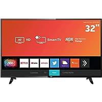 """Smart TV LED 32"""" HD AOC 32S5295/78G com HDR, Wi-Fi, Miracast, Botão Netflix, Botão YouTube, Conversor Digital Integrado, HDMI e USB"""