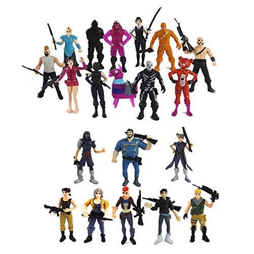 Battle Royale Set 20 pcs PVC Characters Fort Super Heroes Party Supplies for Boys