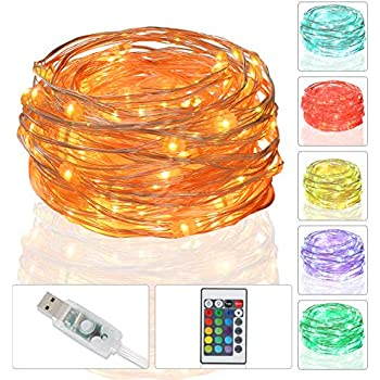 Amazon Com Led String Light Usb Powered Multi Color