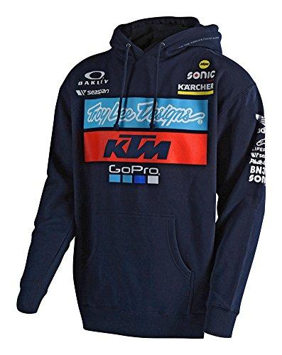2018 Troy Lee Designs KTM Team Pullover Hoodie-XL
