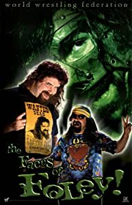 Mick Foley The Faces of Foley 34X22 WWF WWE Sports Poster Print Professional wrestling