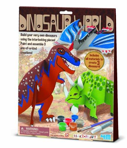 4M Dinosaur World Craft Kit