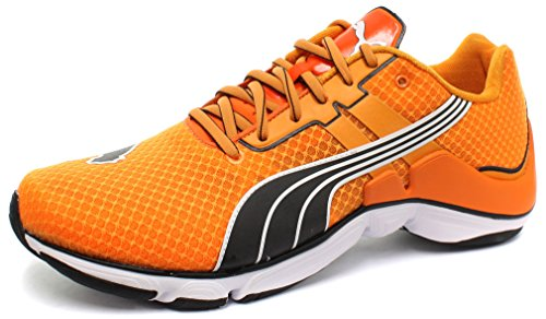 Orange à Puma Poppy courses Chaussures Elite black pied Golden Homme Mobium xwqq0HXFP6