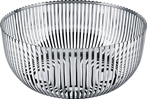 Alessi Fruit Holder in 18/10 Stainless Steel Mirror Polished, (Alessi Steel Bowls)