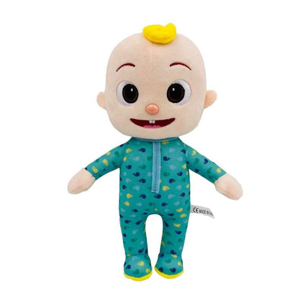 Sttoce Boy Stuffed Doll, Cocomelon JJ Educational Kids Toy, 26CM Cocomelon JJ Plush Toy Boy Stuffed Doll Soft Comfortable Lovely Childrens Animated Dolls for Kids