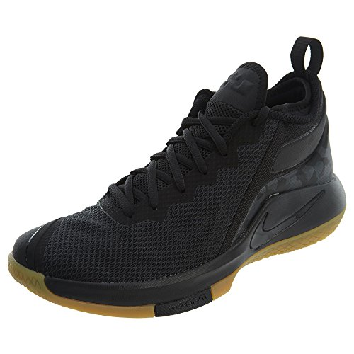 Men Black Lebron Shoes 020 Multicolour NIKE s Gum Ii Witness Light Fitness AqnR8d