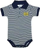 University of Michigan Wolverines Newborn Striped Polo Bodysuit