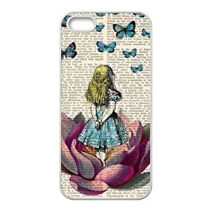Lovely butterfly girl Cell Phone Case for Iphone 5s
