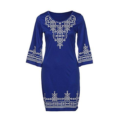 Maxi Mujer Mujer azul Noche TM de Playa Damark Boho Elegante Vestidos Sundress Noche Y2 Boda Casual Falda Maxi Mujer 10 Playa Verano Vestido Largo Fiesta de Vestido 8FvdZ