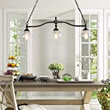 Log Barn Dining Room Light Fixture