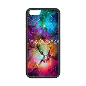 """Personalized Protective Hard Plastic Case for Iphone6 Plus 5.5"""" - I AM A DREAMER Print custom case at CHXTT-C"""