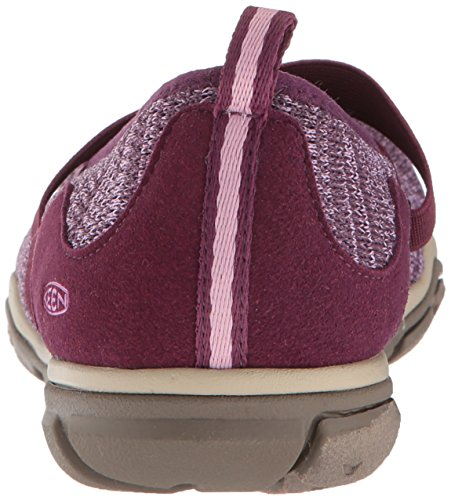 Donne Appassionate Hush Knit Mj-w Hiking Shoe Vino Duva / Lavanda Alle Erbe