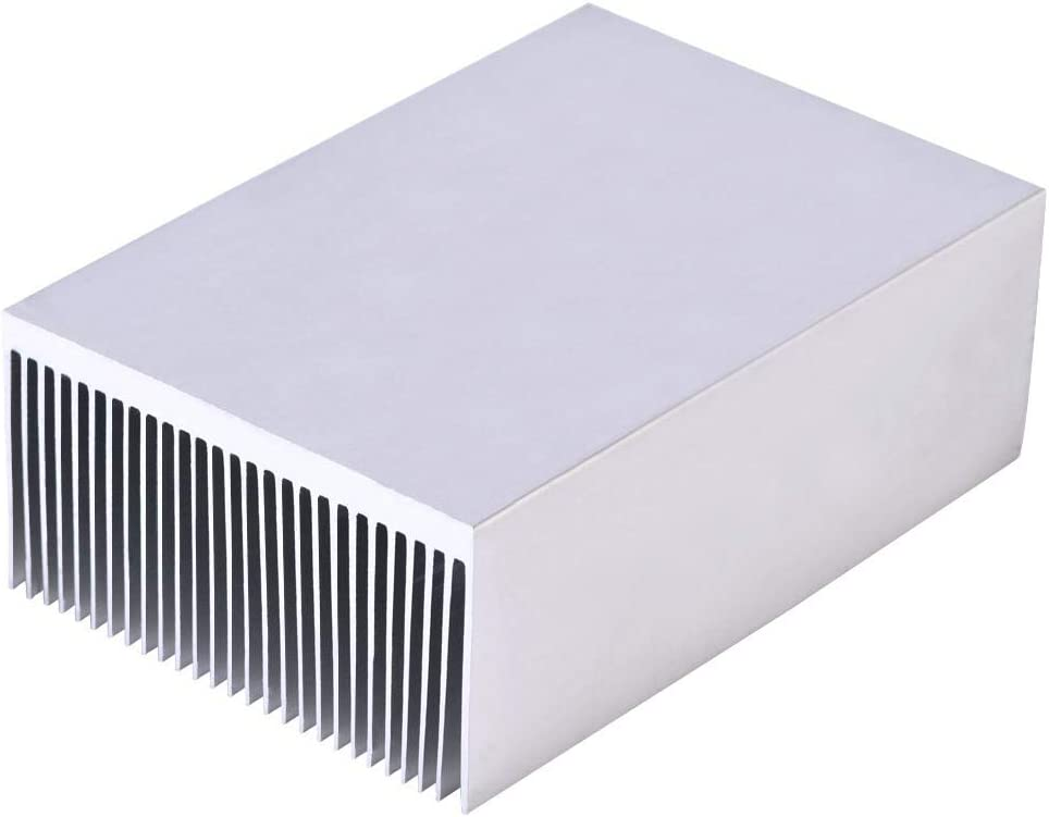 Biuzi Heatsink Aluminum Heat Sink Heatsink Module Cooler Fin for Led Amplifier Transistor IC Module 1006936mm