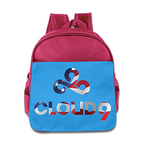 Price comparison product image LOL LCS Cloud 9 Flag Kids School Pink Backpack Bag
