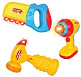 Liberty Imports Intellectual Toy Tools Set with Lights and Sounds for Toddlers