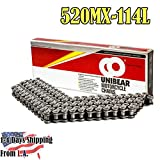 520MX Professional Motorcycle Racing Chain 114 Links with 1 Connecting Link