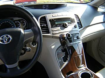 High Quality TOYOTA VENZA INTERIOR BURL WOOD DASH TRIM KIT SET 2009 2010 2011 2012