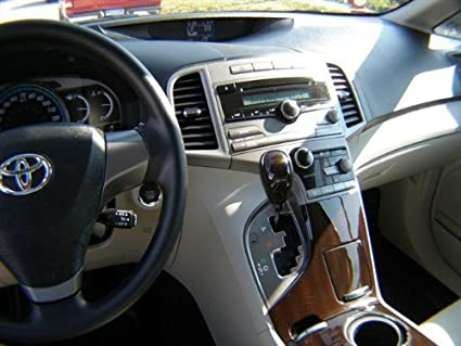 Amazoncom Toyota Venza Interior Burl Wood Dash Trim Kit Set 2009