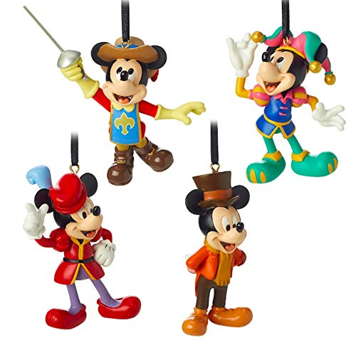 Mickey Mouse Through The Years Mini Ornament Set