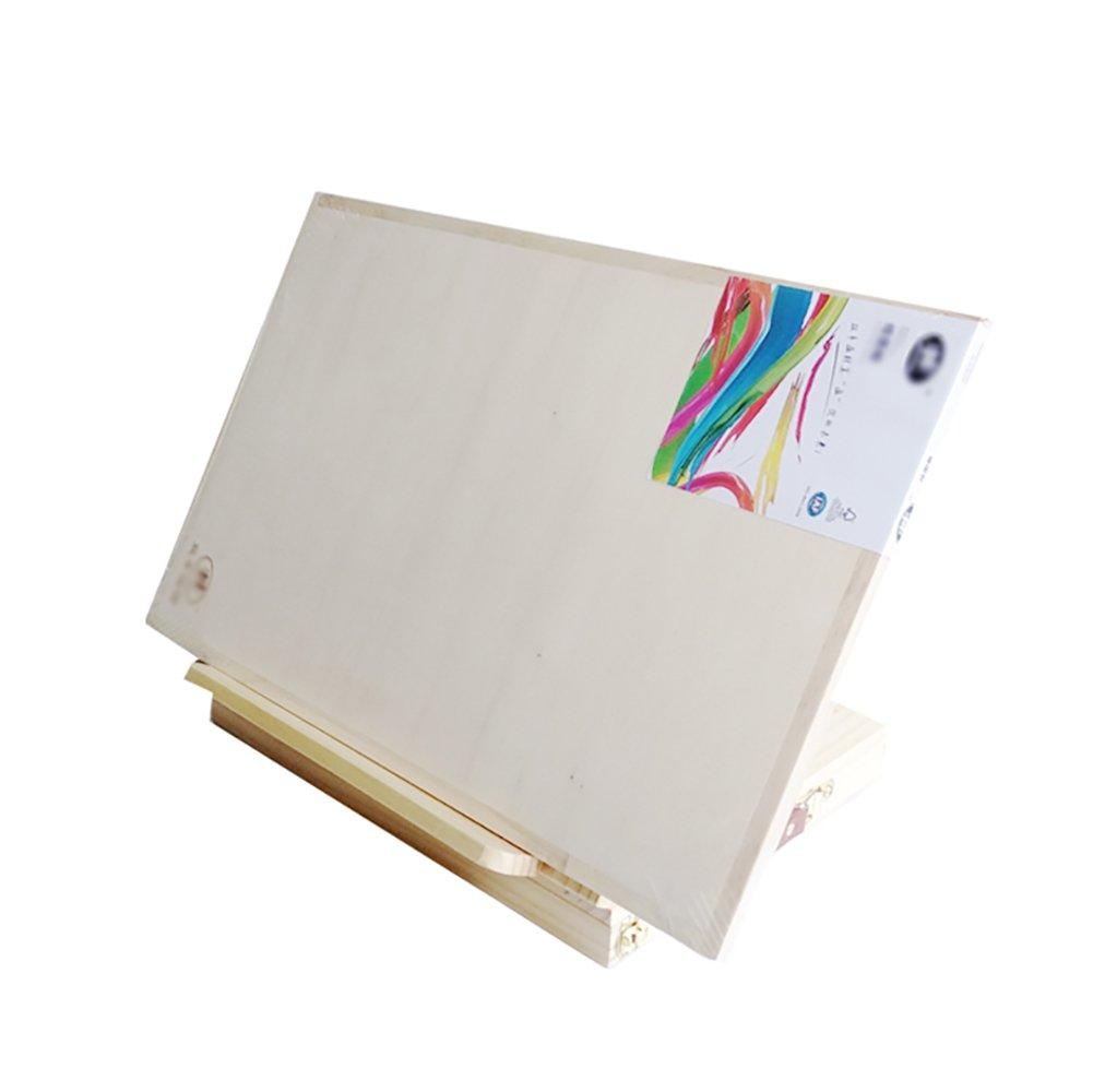 デスクトップベンチトップイーゼル木製油絵ラック引き出しで初心者折りたたみ多機能スケッチイーゼルセット8Kスケッチブック (色 : (色 Easel+High : quality 8K 8K Sketchpad) Easel+High quality 8K Sketchpad B07F8R6LQJ, 起福堂:bf2006a9 --- ijpba.info