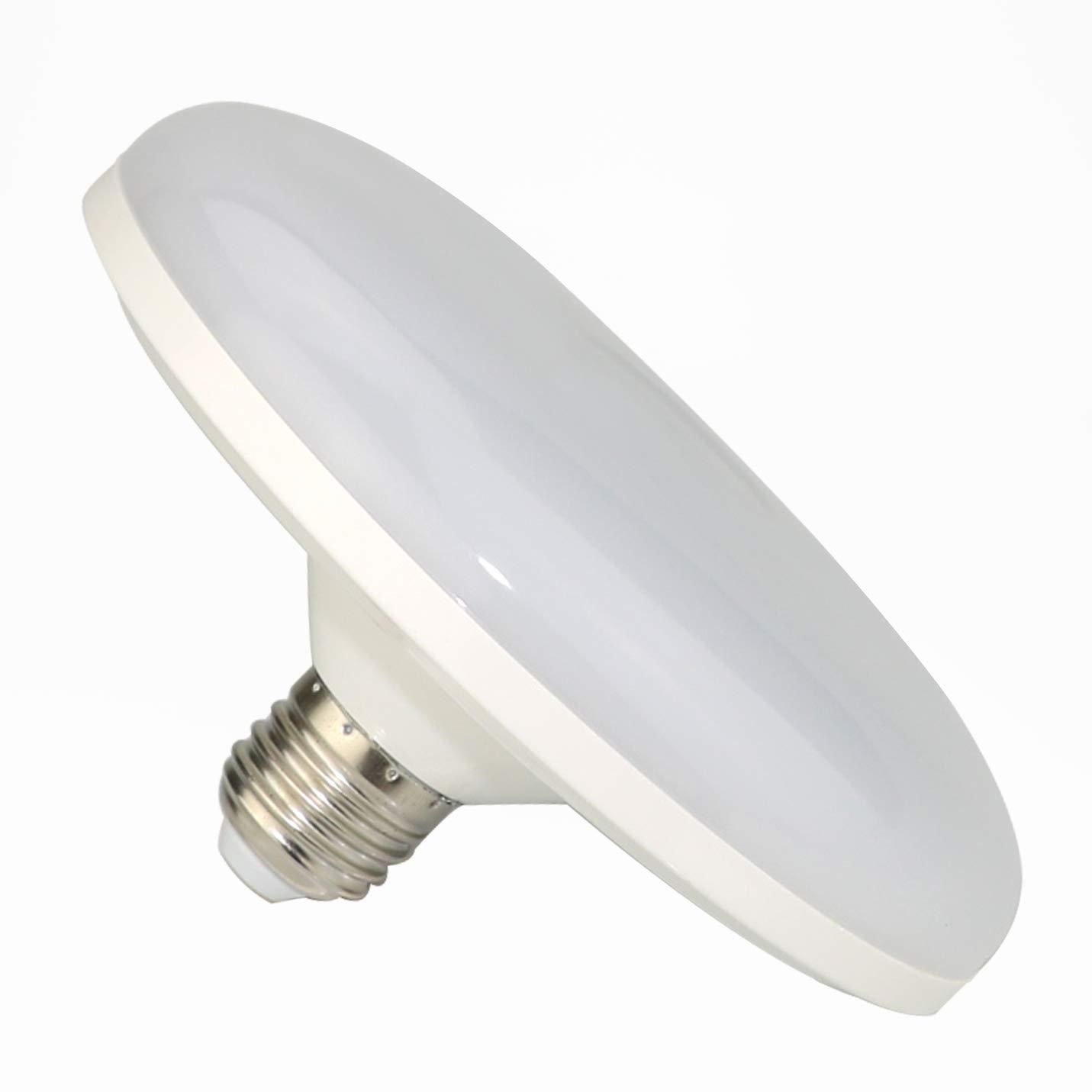 Awanber LED Ceiling Light Bulbs E27 15 Watt Indoor/Outdoor Night Lamp Light for Hallway,Stairs,Depot,Kitchen,Bathroom,Toilet 1300 Lumen 6000K