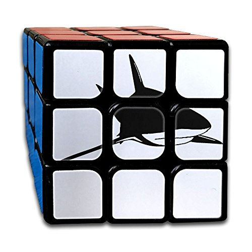 Shark Magic Cube Brain Training Game Match Puzzle Toy For Kids Or Adults Speed Cube Stickerless Magic Cube