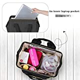 Luxja Breast Pump Bag with Compartments for