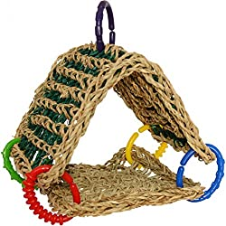 Super Bird Creations Seagrass Tent Toy for Birds
