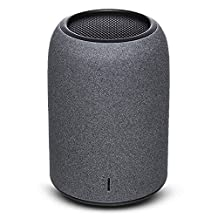 Portable Speakers, ZENBRE M4 Wireless Bluetooth Speakers, Mini Computer Speakers with Enhanced Bass Resonator, built-in Microphone (Black)