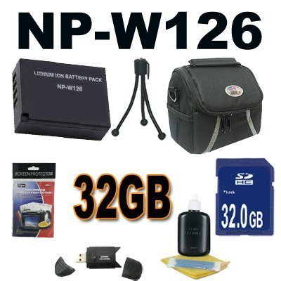 NP-W126 Repacement Battery For Fuji X-Pro 1 , HS30EXR, HS33EXR